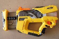 Nerf N-Strike Firefly Rev-8 Blaster Dart Gun with Flashing Light Yellow