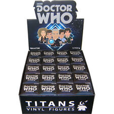"DOCTOR WHO - Regeneration 3"" Blind Box Titans Vinyl Figurines Display (20ct)"