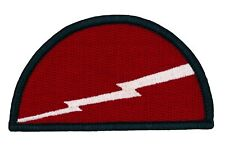 """78th Infantry Division Patch (487) 3"""" x 1 3/4"""" Embroidered Patch 43926"""