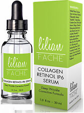 Retinol IP-6 Serum - Deep Wrinkle Correction Collagen - 1oz. By Lilian Fache
