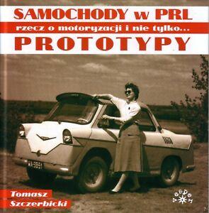 Book - Samochody w PRL Prototypy - Polish Prototypes FSO Polonez 125 Microcars