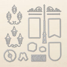 Stampin Up - Christmas Lampost Framelits Dies -  NEW