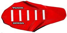New Red & White Team Honda Ribbed seat Cover CRF250 CRF250R 2015 2016 2017
