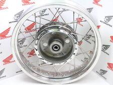 "Honda CB 750 cuatro Front Wheel Alu Flat shoulder 3,5x18"" radios Stainless Steel"