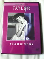 CLASSIC = A PLACE IN THE SUN star ELIZABETH TAYLOR MONTGOMERY CLIFT =VGC CERT PG