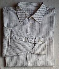 Gestreifte klassische Van Laack Herrenhemden mit Sportmanschette