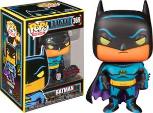 BATMAN The Animated Series - Batman Blacklight Pop! VINYL + POP PROTECTOR