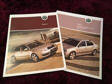Skoda Superb Brochure 2004 - UK Issue + 2004 Prices & Specs booklet