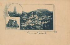 Nr 19019 PK Gruss aus Berneck Bayern