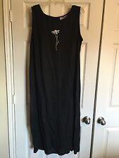 Ladies Black Summer Dress - Size 22W