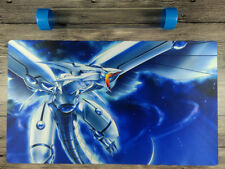 Blue-Eyes Shining Dragon YuGiOh Duel Battlefield Playmat TCG Mat Free Best Tube