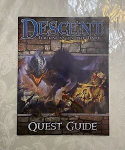 Descent Journeys In The Dark Shadow Rune Quest Guide Booklet