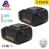 2x 20V 4.0Ah WA3520 WA3525 Max Lithium Battery For WORX W155 WG151s WG251 WG545