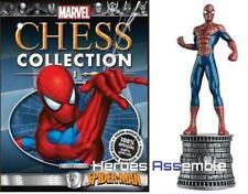 COLLEZIONE di scacchi Marvel # 1 SPIDER-MAN NUOVO EAGLEMOSS supereroi Figurina
