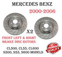 Rear Ceramic Brake Pads Fits Mercedes-Benz CL55 CL600 S430 S500 S55 S600 CL500