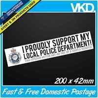 Funny Police Sticker/ Decal - JDM Drift Ute 4x4 Speeding Tickets Bomb AUS AS FCK