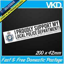 Funny Police Sticker/ Decal - JDM Drift Ute 4x4 Speeding Tickets Bomb AUS AS FCK