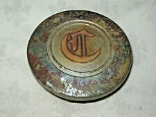 Vintage Car Centre Wheel Hub Centre Nut Cover with Gothic Letter C for Chrysler