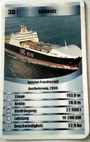 Quartett Einzelkarte: Spezial-Frachtschiff Akdeniz - Art.nr: 83