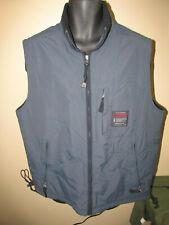 Vintage Abercrombie & Fitch Reversible Mens Sz L Vest Blue