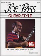 Joe PASS Guitar Style Musica Libro Jazz Harmony & Melody