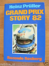 GRAND PRIX STORY 82 Heinz Prüller, F1, FORMULA ONE KEKE ROSBERG