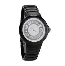 orologio da polso D&G con cinturino in acciaio brunito DW0249