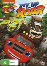 Blaze and the Monster Machines Rev Up and Roar DVD NEW Region 4