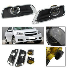 Set Front Bumper Fog Lights Driving Lamp W/ Switch For 2013-2015 CHEVY MALIBU