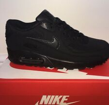 Nike Air Max 90 Trainers Black Size 8