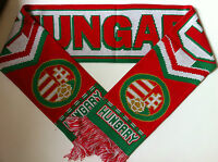 HUNGARY Football Scarves NEW from Superior Acrylic Yarns