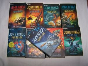 Ringo, John: 9 SF Bücher Paket Invasion: Aufmarsch, Angriff Gegenschlag, Rettung
