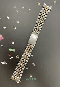 Rolex Datejust 36mm Men's 2-Tone 14k Yellow Gold Jubilee Crown Band 6251H Code