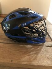 Cascade R Lacrosse Helmet , Black Mask, Black Chin strap - one size fits all