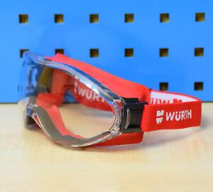 Würth Schutzbrille Vollsichtschutzbrille Vollsichtbrille Gesichtsschutz