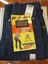 Mens Wrangler Original Fit 13MWZ Cowboy Cut Jeans 27 x 33  NWT
