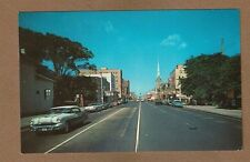 Portsmouth,VA Virginia, High Street, 1950's cars
