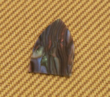 (1) Single Ply Abalone Celluloid Undrilled Guitar Truss Rod Cover TC-AB