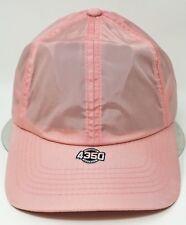 Outdoor Sport Cap Rain Sun Waterproof Unconstructed Dad Hat Adult OSFM Pink New