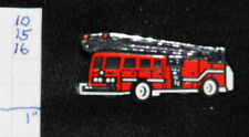 FIRE DEPT LADDER TRUCK PLASTIC HAT OR LAPEL PIN