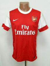 ARSENAL 2010/2011 HOME FOOTBALL SHIRT JERSEY NIKE SIZE S ADULT