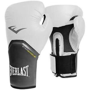 Everlast Pro Style Elite Training Gloves Model 2772 12 OZ white/black