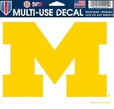 Michigan Wolverines 5x6 Ultra Decal Window Laptap Car Truck Multi Use stickers