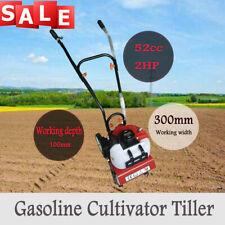 Mini Tiller Cultivator Garden Yard Tilling Soil Gas Powered 2 stroke,52CC