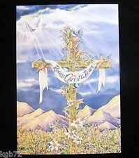Leanin Tree Easter Greeting Card Cross Religious Multi Color E19