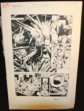 Legends of the Dark Knight #17 p.1 - LA - Title Splash - art by Trevor Von Eeden Comic Art