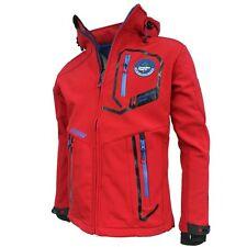 Men's Canadian Peak Softshell Veste-à Capuche Trabendo Couleur Rouge Taille S Entièrement neuf sans étiquette