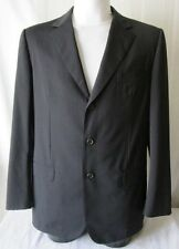 ***GUCCI GIACCA JACKET TG.50 LANA Colore Blu scuro GESSATA Cd. AS