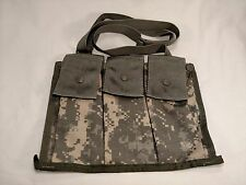 6 Magazine Bandoleer Pouch MOLLE - Excellent -- 6x 5.56 Mags ACU M4 AR15