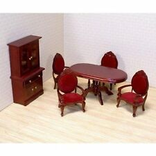 Melissa and Doug 2586 Deluxe Doll House Dining Room Furniture